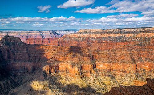 Avondlicht over de Grand Canyon