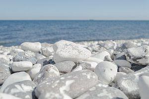 Kiezelstenen Op Het Strand van