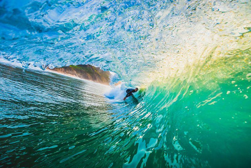 Surfen van Andy Troy