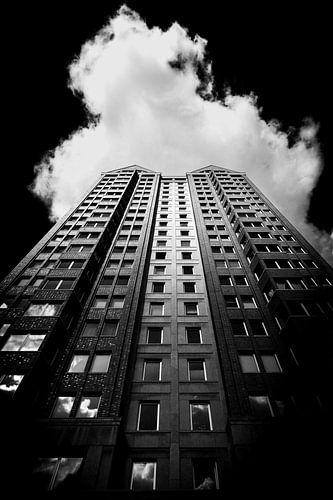 Rotterdam in zwart wit