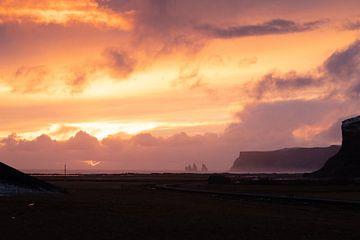 Küstenlandschaft im Sonnenuntergang von Alexander Ludwig