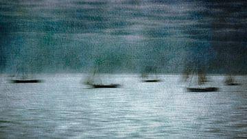 Mysterious fleet sur Greetje van Son