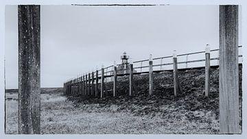 Oude haven Emmeloord van Shokland, Flevoland van