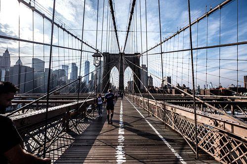Brooklyn Bridge, New York City van