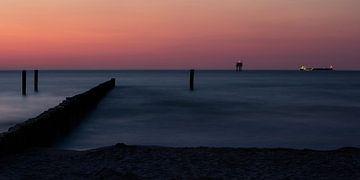 Abendstimmung an der Ostsee von Andreas Müller