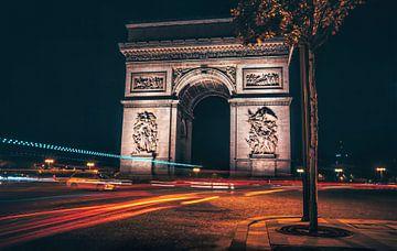 Arc de Triumph by night sur Joris Pannemans - Loris Photography