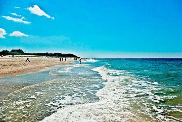 Sylt: A summer day at the beach van Norbert Sülzner