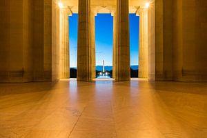 Washington Monument bij Ochtend
