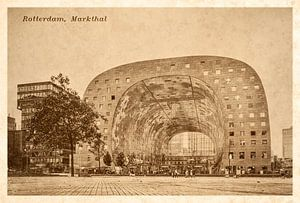 Oude ansichten: Rotterdam Markthal van