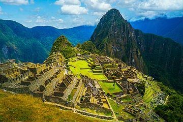Machu Pichu in Peru van Ivo de Rooij