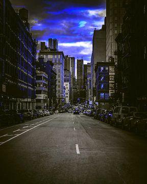Street and Cars von Michael Ladenthin