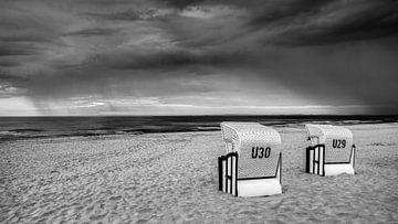 Strandkörbe an der deutschen Küste von Adelheid Smitt