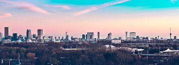 Magische zonsondergang Rotterdam sur Midi010 Fotografie
