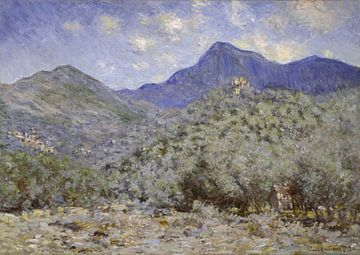 Valle Buona, nahe Bordighera, Claude Monet