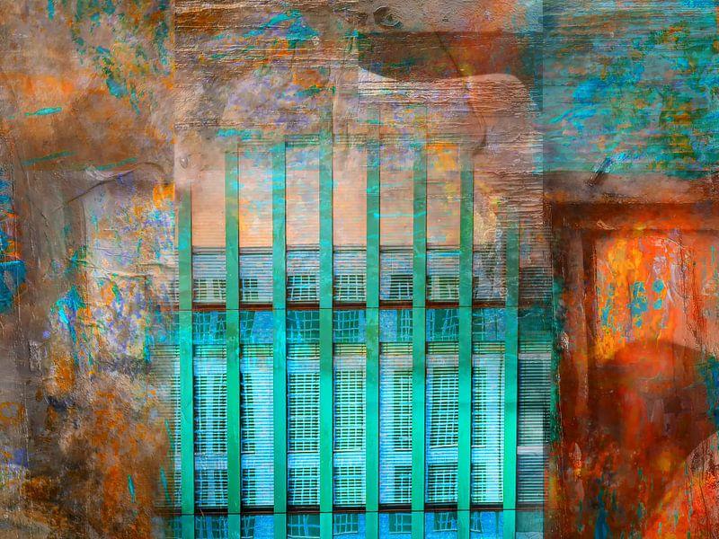 The turquoise building van Gabi Hampe