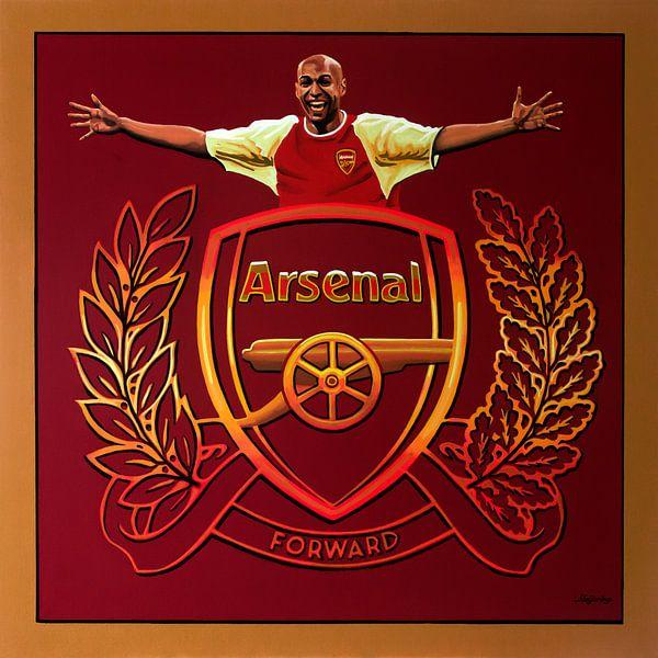 Arsenal London Schilderij van Paul Meijering
