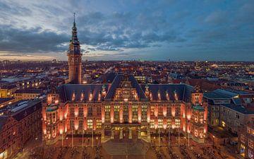 Universitätsgebäude der Universität Groningen von Peter Wiersema