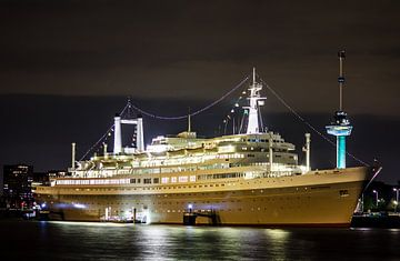 Rotterdam Harbor van Brandon Lee Bouwman