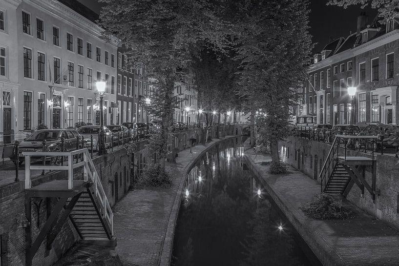 Nieuwegracht in Utrecht in de avond - 5 van Tux Photography