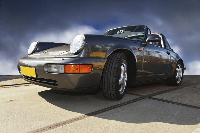 Porsche Grijs van Brian Morgan