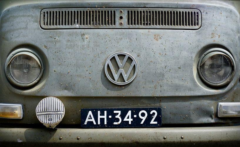 Het Oude Volkswagen Busje van M DH