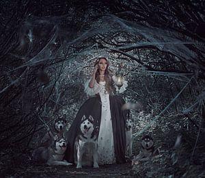 Prinses in het bos