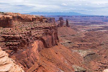 Het mooie Canyonlands Nationaal Park in Amerika van Linda Schouw