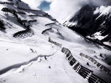 The magic of snow (6) van Christoph Van Daele