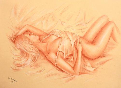Sleeping Venus - erotische tekeningen van Marita Zacharias