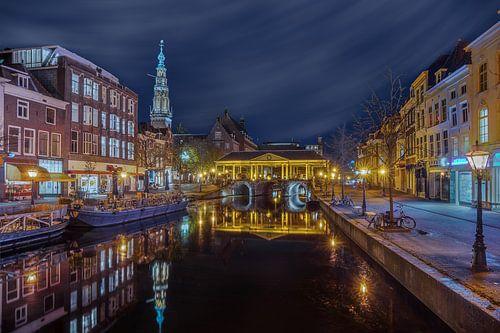 Leiden - uitzicht op de Nieuwe Reijn