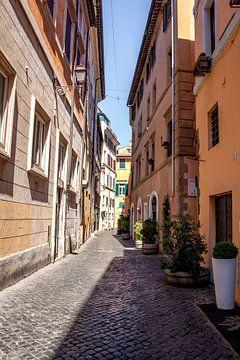 Smal straatje in Rome van Mickéle Godderis