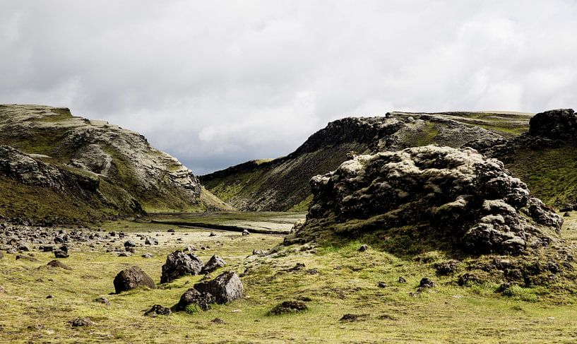 Groene rotsen van Ab Wubben