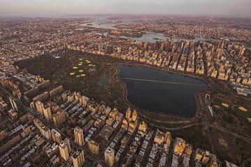 Central Park von oben von Thomas Bartelds