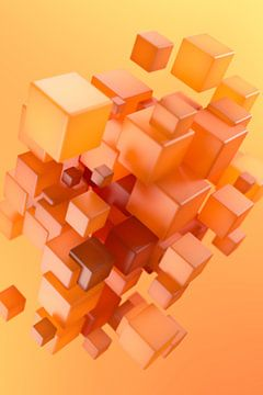 Cubes d'ambre sur Jörg Hausmann