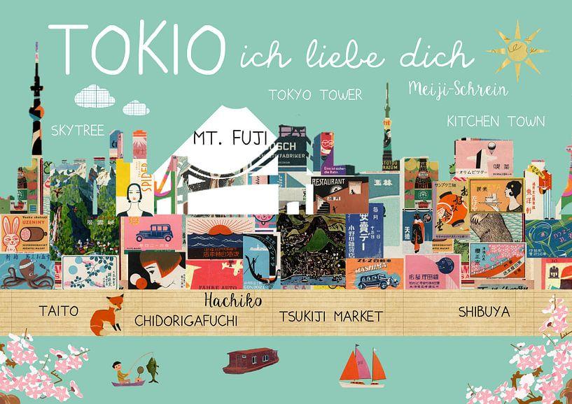 Tokio – ich liebe dich van Green Nest