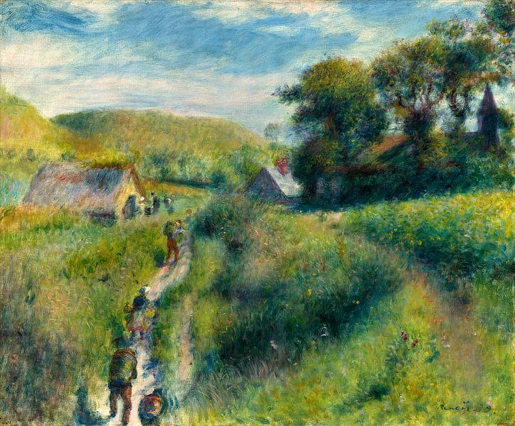De Oogsters, Auguste Renoir