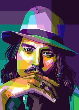 Johnny Depp van zQheert