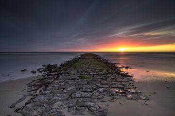 Le quai de la mer du Nord sur Klaas Fidom