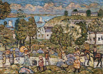 Maurice Prendergas-Landschaft bei Nahant