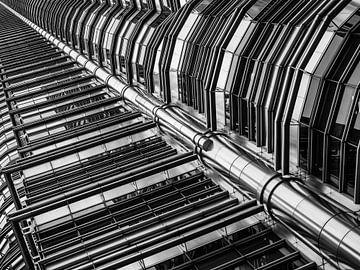 Detailaufnahme der Petronas Towers in Kuala Lumpur von Shanti Hesse