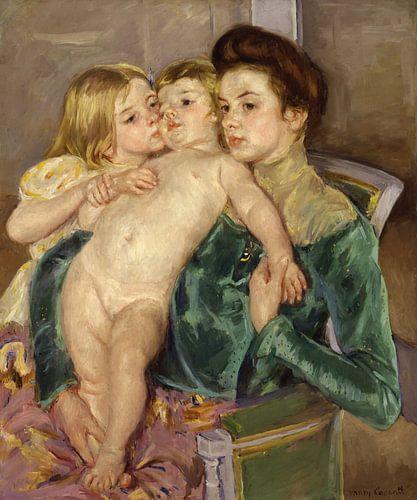 Mary Cassatt. The Caress van 1000 Schilderijen