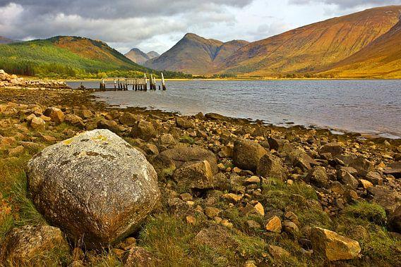 Loch Etive, Schotland van Peter Bolman