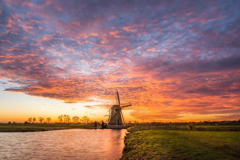 Sky on Fire sur Martijn van der Nat