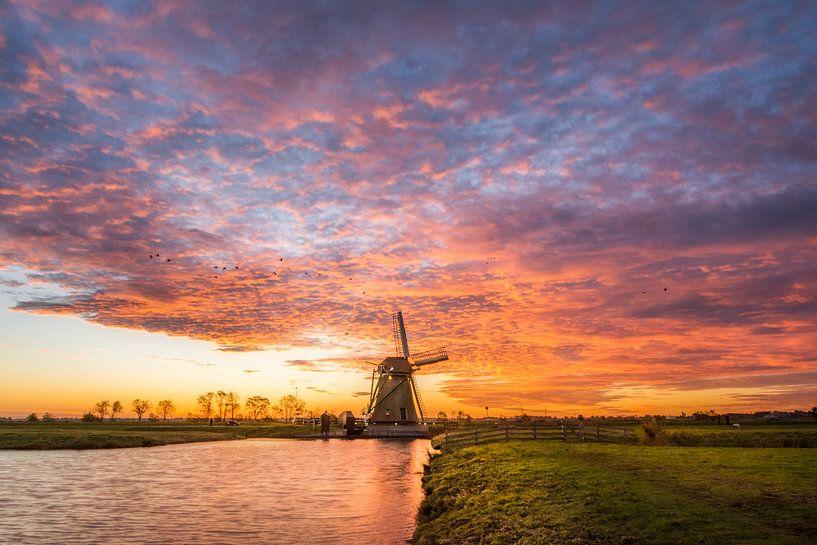 Sky on Fire van Martijn van der Nat