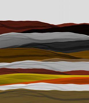 Montagnes colorées van