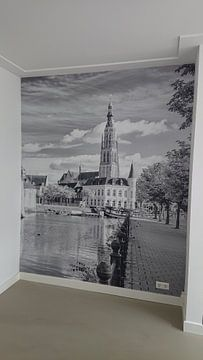 Klantfoto: Breda Spanjaardsgat vanaf Prinsenkade