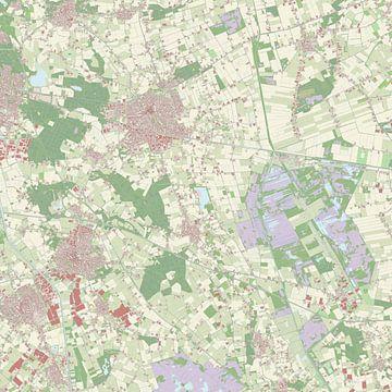 Kaart van Deurne