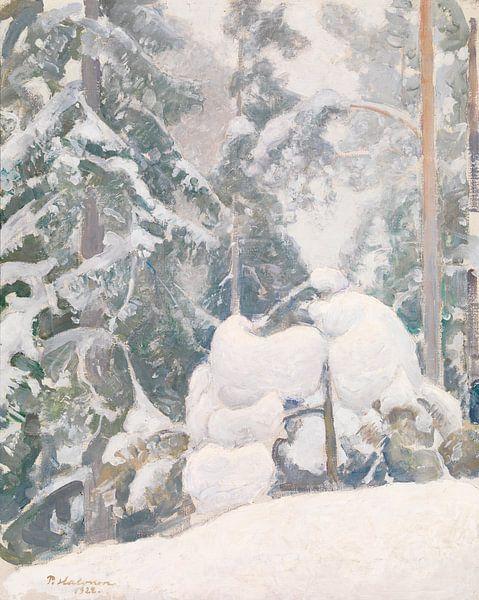 Pekka Halonen~Winterlandschaft von finemasterpiece