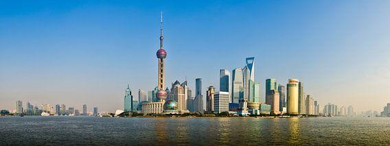 Shanghai Panorama van Photography by Karim