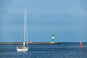 Segelschiff auf der Ostsee in Warnemünde von Rico Ködder
